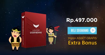 Review Levidio Storyboard : Buat Video dan Grafis Berkualitas Untuk Keperluan Bisnis Anda Dalam Hitungan Menit