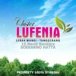 Cluster Lufenia Sepatan Tangerang : Cluster Syariah Dekat Bandara Sukarno Hatta