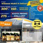 PROJECT JATISARI – WIBAWA MUKTI 2 PROMO TERMURAH, CEPAT HUNI & FASILITAS CLUSTER LENGKAP