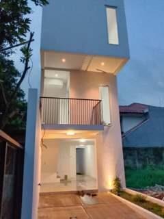 Asri Cimanggis Townhouse : Rumah 3 Lantai Minimalis Dekat Tol Cimanggis Depok