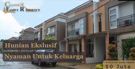 Cluster Family Residence Jatimurni Bekasi : Rumah 2 Lantai Siap Huni Dekat Tol Jatiwarna