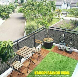 Desain Kanopi Balkon Buat Rumah Anda Makin Cantik & Multifungsi
