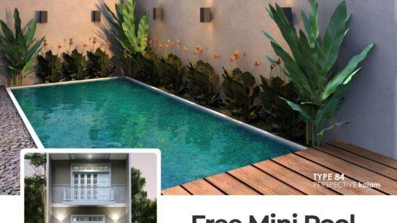 AHZAVI RESIDENCE : Cluster Eclusive dengan Mini Pool di Pondok Gede Bekasi Dekat Tol