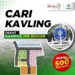 Kavling Siap Bangun Shabina Bogor City Strategis di Bogor Barat